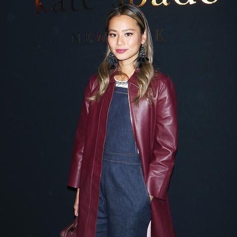 New York Fashion Week February 2017 Front Row: Jamie Chung