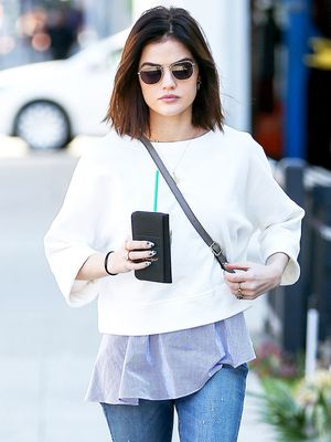 Why Lucy Hale's Look Is Perfect From Work to Weekend
