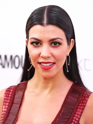The Unexpected $7 Product Kourtney Kardashian Swears By for Shiny Hair