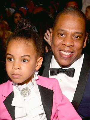 Blue Ivy Owned the Grammys in a Hot-Pink Gucci Suit