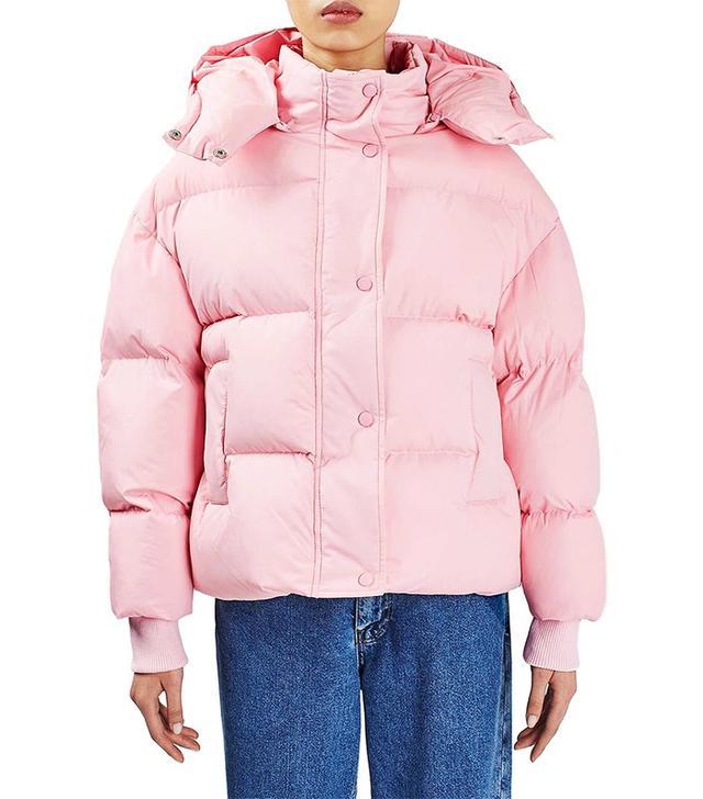 Topshop The Puffball Puffer Jacket