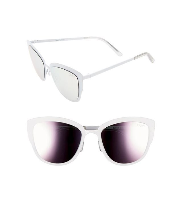 Quay Australia Supergirl 55mm Cat Eye Sunglasses