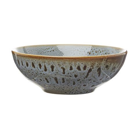 Kmart Glazed Small Bowl - Dark Grey