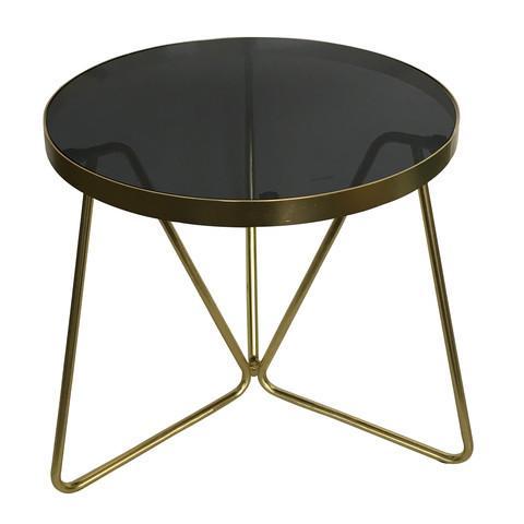 Side Table - Brass Look