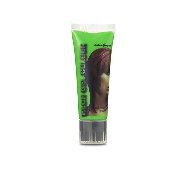 Green hair trend: Stargazer UV Neon Hair Gel