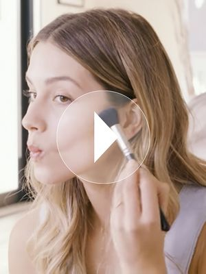 Watch: How to Get a Model-Worthy Glow With Makeup