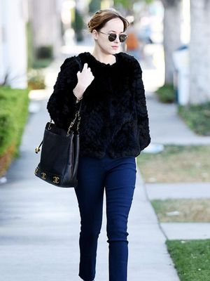 9 Times Dakota Johnson Made Flats Look Chic