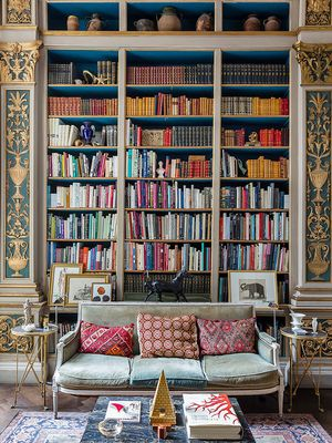 9 Insanely Chic Home Libraries That Made Our Jaws Drop to the Floor