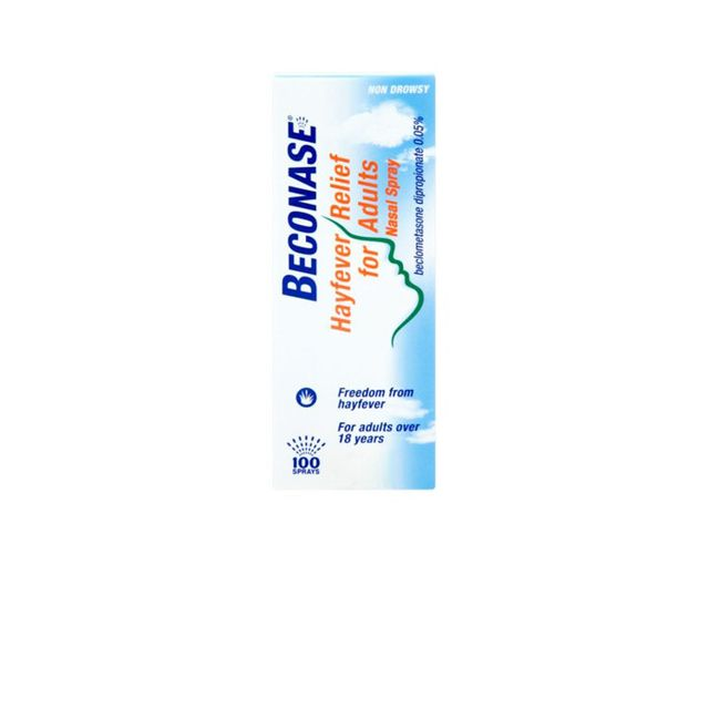 Hay fever symptoms: Beconase Hayfever Relief Nasal Spray for Adults