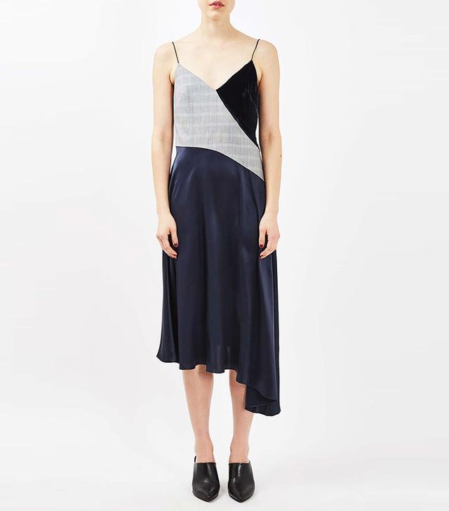 Topshop Boutique Tailored Ballerina Slip Dress