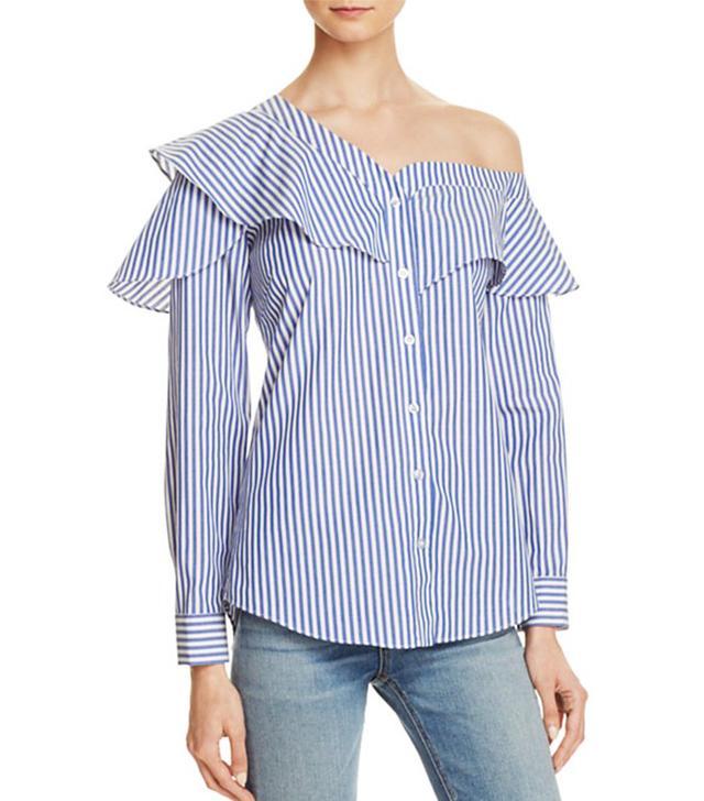 Bardot Ruffle and Frill Shirt