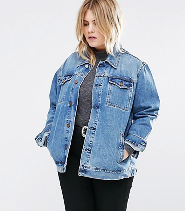 ASOS Curve denim jacket