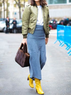 6 Pretty Skirts That Transition From Summer to Autumn