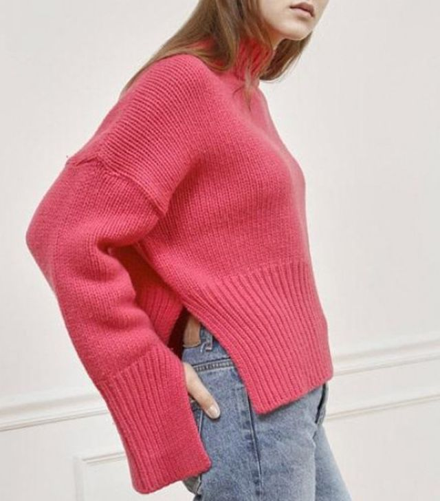 Foliedeux Hot Pink Wool Sweater