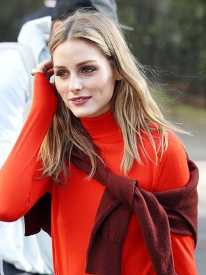 The New Way to Style Your Sweater, According to Olivia Palermo