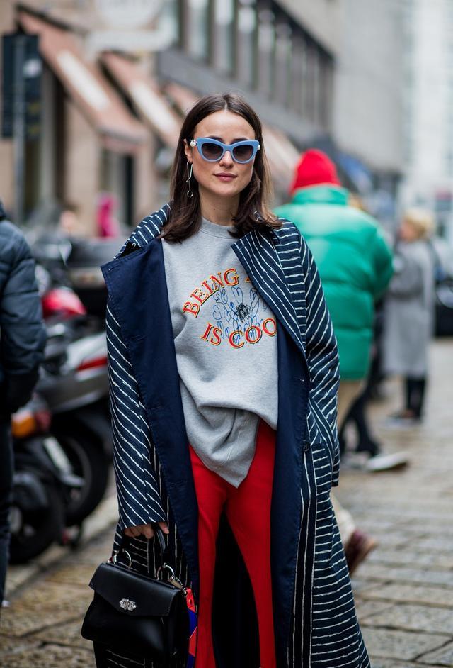 Milan Fashion Week Street Style Fall Winter 2017