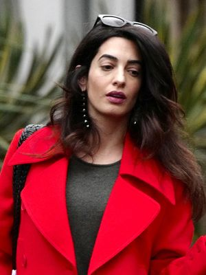 Here's Your First Look at Amal Clooney's Maternity Style