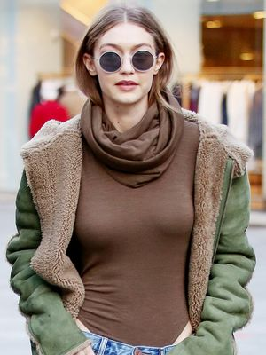 The Controversial Trend Gigi Hadid Is Wearing in Milan