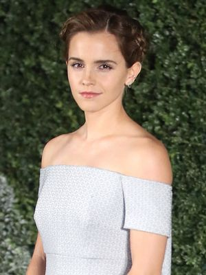 Emma Watson Went Full Cinderella for the Beauty and the Beast Premiere