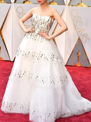 6 Unconventional Bridal Looks to Copy From the Oscars Red Carpet
