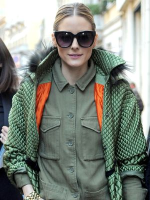 Olivia Palermo's Cropped-Jeans Outfit Will Make Your Legs Look So Long