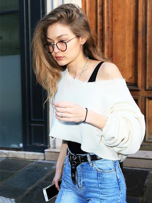 The Affordable Flat Boots Gigi Hadid Is Wearing All Over the World