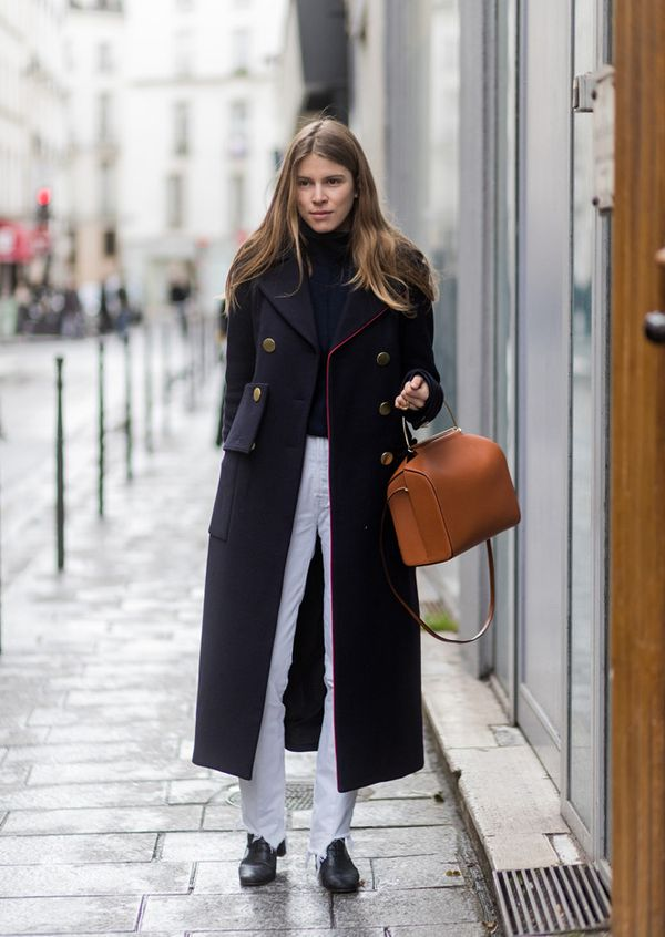 Paris Fashion Week Street Style Fall 2017