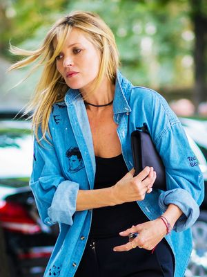 Kate Moss Just Wore the Perfect Spring Outfit