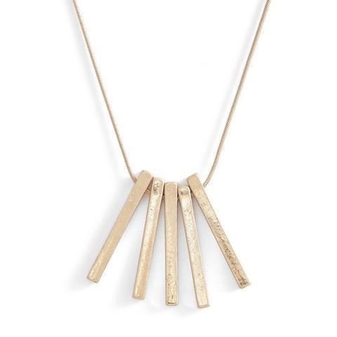 5-Bar Pendant Necklace