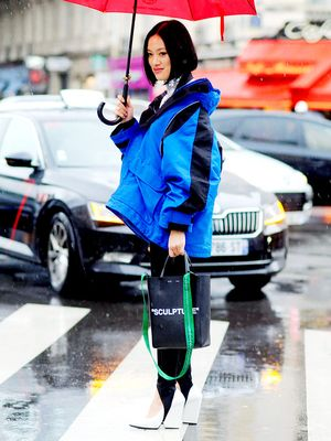 The Parisian Girl's Guide to Looking Chic When It's Raining