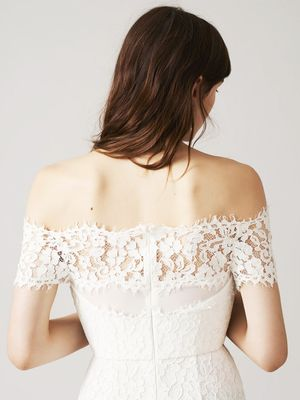 This Fashion Bride Tried on All of Whistles' Wedding Dresses