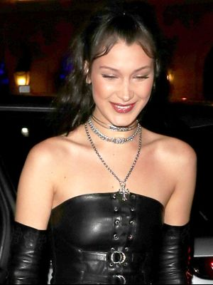 Bella Hadid Wore the Most Surprising Outfit This Weekend