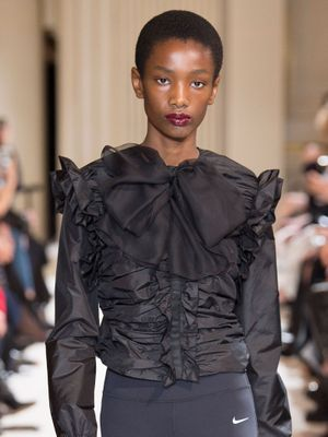 We Did Not Expect to See Leggings on This Paris Runway