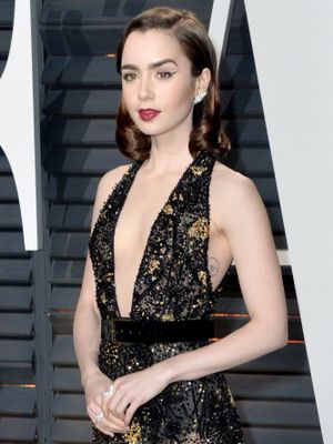 The Empowering Reason Lily Collins Loves to Wear Leggings