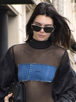 Kendall Jenner Just Borrowed This Controversial Look From Gigi Hadid