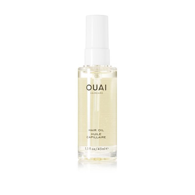 Best street style beauty inspiration: Ouai Haircare Hair Oil
