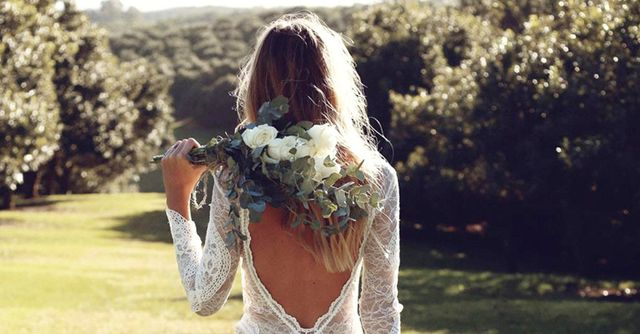 This is how much you should spend on a wedding dress for How much to spend on wedding dress