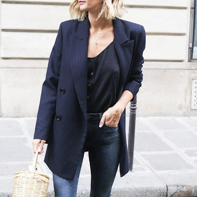 Here's How the French Make Denim Look Impossibly Chic