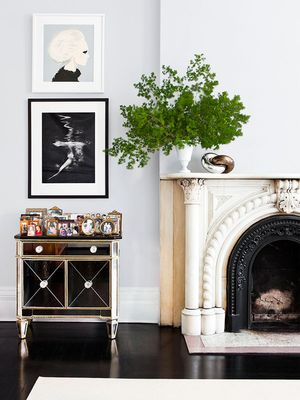 If You Adore Emily Henderson's Style, You'll Love How She Styles a Mantel
