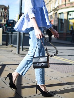 Found: The Perfect Way to Style Frayed Denim