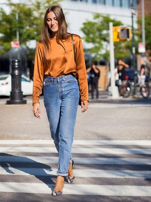 No One Is Wearing Mom Jeans Like This Anymore