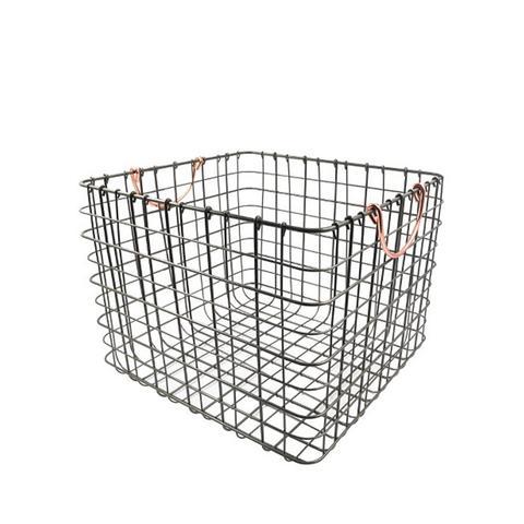 Threshold Wire Large Straight Milk Crate