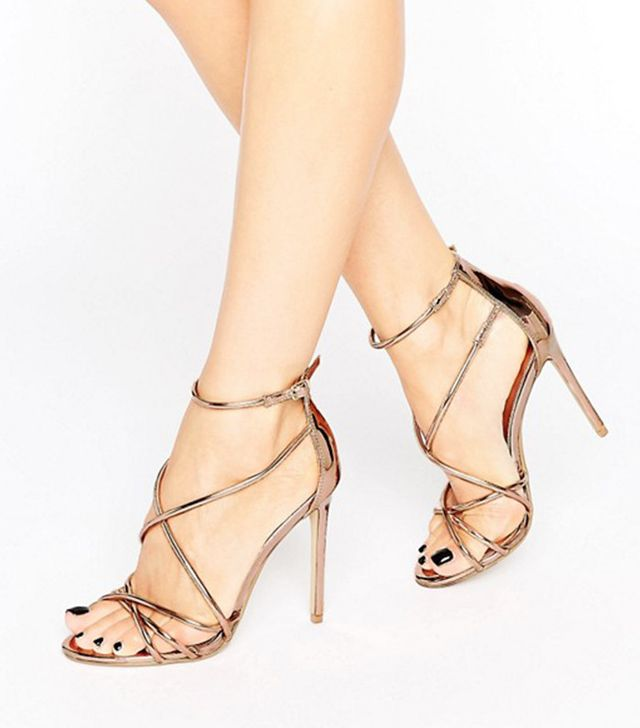 ASOS Office Spindle Strappy Sandals