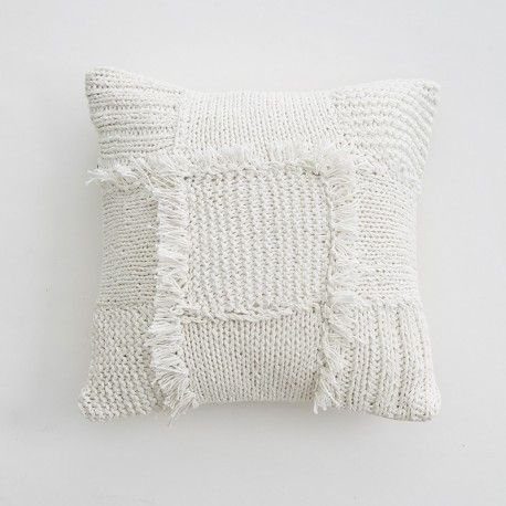 Heirloom Cushion - Chalk