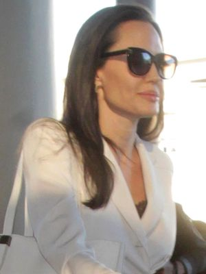 Angelina Jolie's Airport Look Features This Major Trend