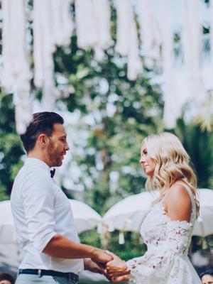 Inside This Australian Fashion CEO's Gatsby-Inspired Bali Wedding