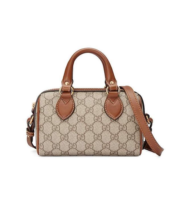Gucci GG Supreme Mini Satchel Bag