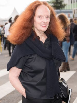 This Is the One Group of People Grace Coddington Is Scared to Dress