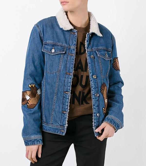 Each x Other  Eagle Appliqué Denim Jacket