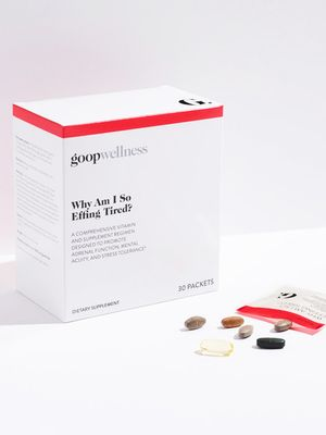 Introducing Goop Wellness, Gwyneth Paltrow's New Line of Supplements